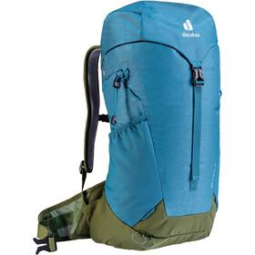 deuter AC Lite 22 SL Backpack Women, blauw/olijf